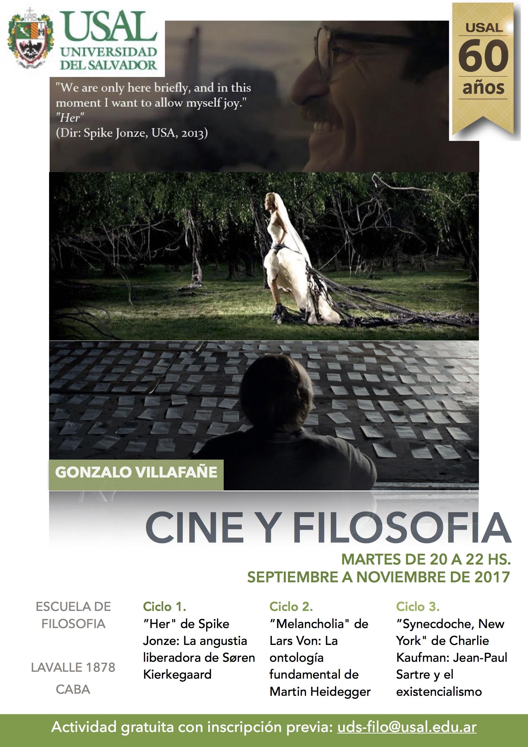 Ciclos de Cine y Filosofía