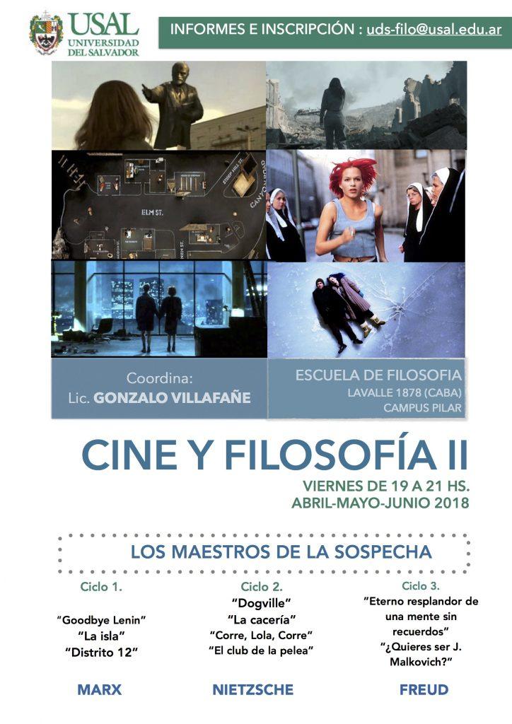 Ciclo Cine y Filosofía II