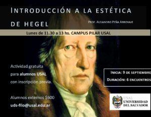 Introducción a la Estética de Hegel
